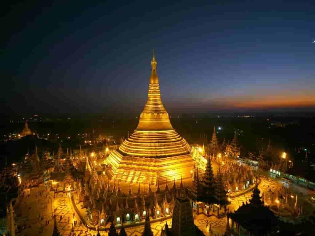 Birmanie Carte Regions.Les Regions Du Myanmar La Birmanie